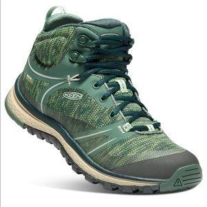 Keen Terradora Waterproof Mid Hiking Boot Green